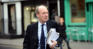 Shane Ross and Bus Éireann discussed the difficulties at the company in separate rooms beside each other. Photograph: Eric Luke/The Irish Times
