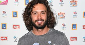 Joe Wicks: The popular personal trainer knows that nutrition is as important as exercise. Photograph: Getty Images