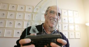 Colm Tóibín, after winning the 2010 Irish PEN Award for contribution to Irish Literature. Photograph: Alan Betson