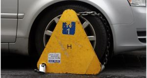 Apcoa apologise to the clamped customer for not processing his fee refund in a timely manner. Photograph: Bryan O'Brien