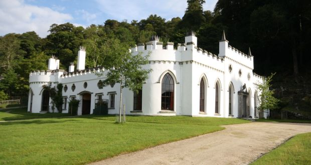 With Its Turrets And Arched Windows Luggala Is A Gothic Revival Fantasy Photograph