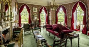 Drawingroom at Luggala. Photographer Antonio Martinelli