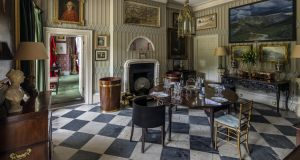 The entrance hall at Luggala.  Photograph: Antonio Martinelli