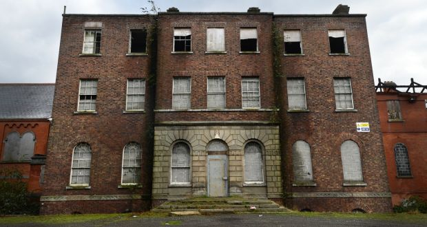 A View Of The Old Belcamp Hall On Malahide Road, North Dublin. Photograph: