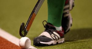 Irish Hockey League resumes on Saturday after a seven-week break. Photograph: Ryan Byrne/Inpho