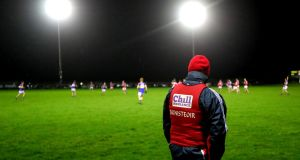 Peadar Healy could struggle to keep Cork in Division Two. Photograph: James Crombie/Inpho