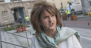 Labour finance spokeswoman Joan Burton:  suggested that in at least one case letters from a vulture fund directly to Minister for Finance Michael Noonan were not declared. Photograph: Brenda Fitzsimons