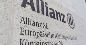 Allianz currently owns 66.5 per cent of the Irish entity, having bought into AGF Irish Life in 1998. Photograph: Martin Leissl/Bloomberg/Getty Images