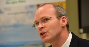 Simon Coveney: he warned three-quarters of the projected population increase of more than one million would be focused on Dublin and the east coast unless action was taken