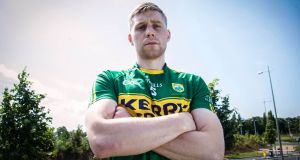 Peter Crowley will continue as Kerry captain for the time being. Photograph: Gary Carr/Inpho