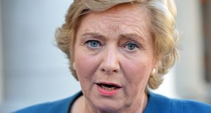 Frances Fitzgerald: said to begin a review of the legislation at too early a point might result in an inconclusive report