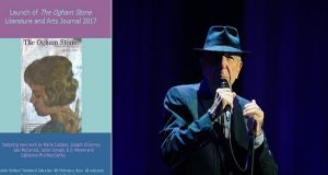 The Ogham Stone: UL's  annual  literary journal, featuring a poem by Julian Gough about Leonard Cohen, launches tomorrow as part of the Doolin Writers' Weekend