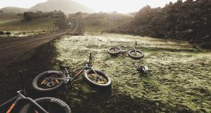Fatbiking is proving popular in Iceland: the oversized tyres and robust mountain bike frames are perfect for dealing with the unforgiving landscape.