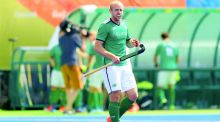 Ireland's Eugene Magee:  set up the opening goal against Spain. Photograph James Crombie/Inpho