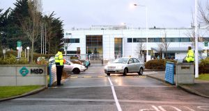 Healthcare potential: the MSD facility in Swords, Co Dublin. Photograph: Brenda Fitzsimons