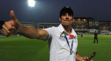 Alastair Cook has stepped down as England captain after 59 Tests in charge, the England and Wales Cricket Board has announced. Photograph: PA