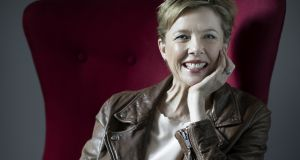 "Annette Bening:  ""We have to have dignity and class."" Photograph: Chad Batka/The New York Times"