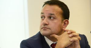 Minister for Social Protection Leo Varadkar said he 'wouldn't necessarily assume' a visit by Donald Trump would have trade benefits. Photograph: Cyril Byrne