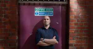 Emergency exit: bestselling author Donal Ryan is having to return to his civil service job  for financial security. Photograph: Nick Bradshaw