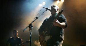 Frank Black and Joey Santiago performing with The Pixies at the Olympia in 2009. Photograph: Matt Kavanagh/The Irish Times