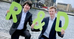 Students of Law & Economics in UCD Robert Lee and Peter Dunlea won the competition in 2016.