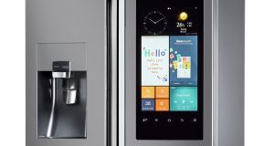 The Samsung Family Hub fridge is on sale in Ireland for  €4,199