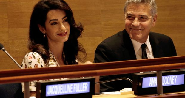 Lawyer Amal Clooney nominated for Tipperary Peace Prize