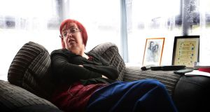 Kate Tobin, a former nun who is living with multiple sclerosis, at her home in Clonroche, Co Wexford. Photograph: Bryan O'Brien