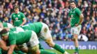 "Ireland centre Robbie Henshaw: ""For us, on the weekend, our communication could have been better."" Photograph: Brendan Moran/Sportsfile/Getty Images"