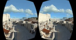 Explore accurate 3D reconstructions of archaeologically significant sites of the ancient world with Lithodomos VR's app