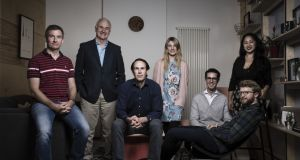 The Frontline Ventures team. The venture-capital firm aim to invest between €200,000 and €3 million in software companies at the pre-seed and seed stages over the next four years.
