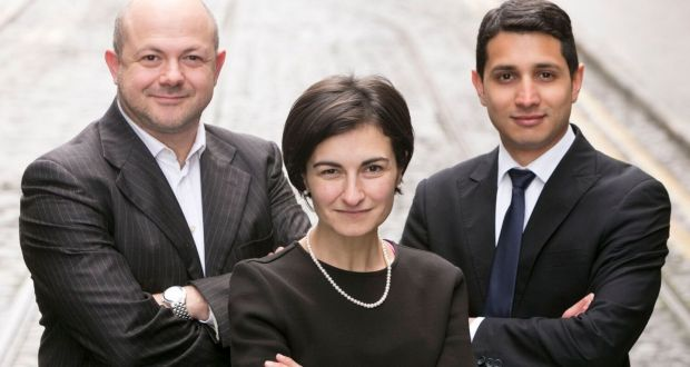 Fabio Mattei, Maria Chiara Leva andYilmar Builes of Tosca Solutions: Leva says Tosca's product is different to what's already out there.