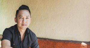 Viet Thanh Nguyen: the abiding power of the eight intelligent, crafted stories that form The Refugees collection  is his reading of human nature in domestic situations. Photograph:  Oriana Koren/The New York Times
