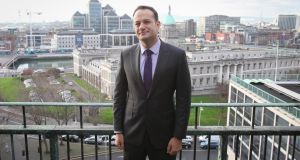 Lunch with Leo: Senior Fine Gael figures were urged to facilitate more fundraising events included ticketed breakfast meetings or lunches with Ministers such as Leo Varadkar (above). Photograph: Gareth Chaney/Collins