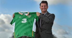 Colin Bell has been appointed head coach of the Ireland women's national team. Photo: FAIreland Twitter