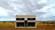 Prada Marfa, a sculpture of the designer's shop front in Marfa, Texas. Photograph: Getty Images