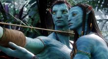 Technology and creative content  collide: Sam Worthington and Zoe Saldana in Avatar. Photograph: Reuters