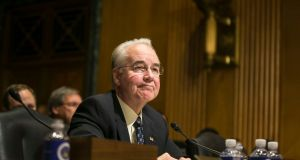 Tom Price:  nominee  for health and human services secretary. Photograph: Al Drago/The New York Times