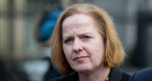 "Ruth Coppinger TD: ""There is not much evidence of rebuilding Ireland when less houses were built under this Minister than the last."" Photograph: Gareth Chaney/Collins"