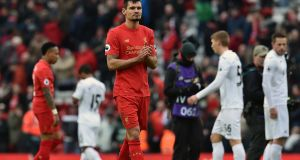 Dejan Lovren and his famioly were forced to flee the Balkans War before being moved out of Germany and settling in Croatia. Photo: Getty Images