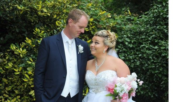 Ashley Sabourin-Burke planned her wedding in Kerry to Kieran from their home in Canada.