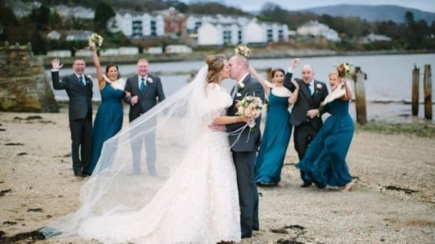 Lauren and Patrick Bradley, who live in Australia, got married in Donegal last December.