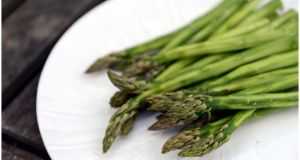 Do we really need  asparagus to be available all year round? Photograph:  Bryan O'Brien