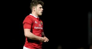 Munster winger Calvin Nash comes into the Ireland under-20 team. Photograph: Dan Sheridan/Inpho.