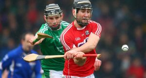 Limerick hurler Gearóid Hegarty (left) was a star man for UL footballers against DIT. Photograph: Cathal Noonan/Inpho.