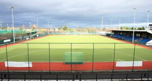 The National Hockey Stadium in UCD, Belfield, is in need  of an upgrade. Photograph: Donall Farmer/Inpho.