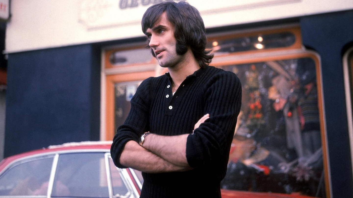 Head and shoulders above on the pitch but George Best was All By