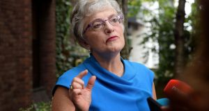 "Minister for Children Katherine Zappone insisted she informed the ""relevant"" Government colleagues about the Tusla file containing the claims. Photograph: Eric Luke/The Irish Times."
