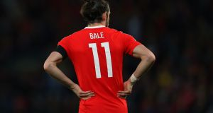 Gareth Bale remains a doubt for Wales' match against Republic of Ireland next month. Photograph: Getty Images