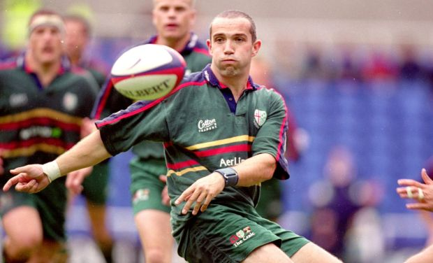 Conor O Shea during his London Irish days. Photograph: Steve Bardens/Allsport